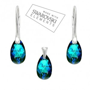Set-Swarovski-Elements-slzicky-Bermuda-Blue-16-mm